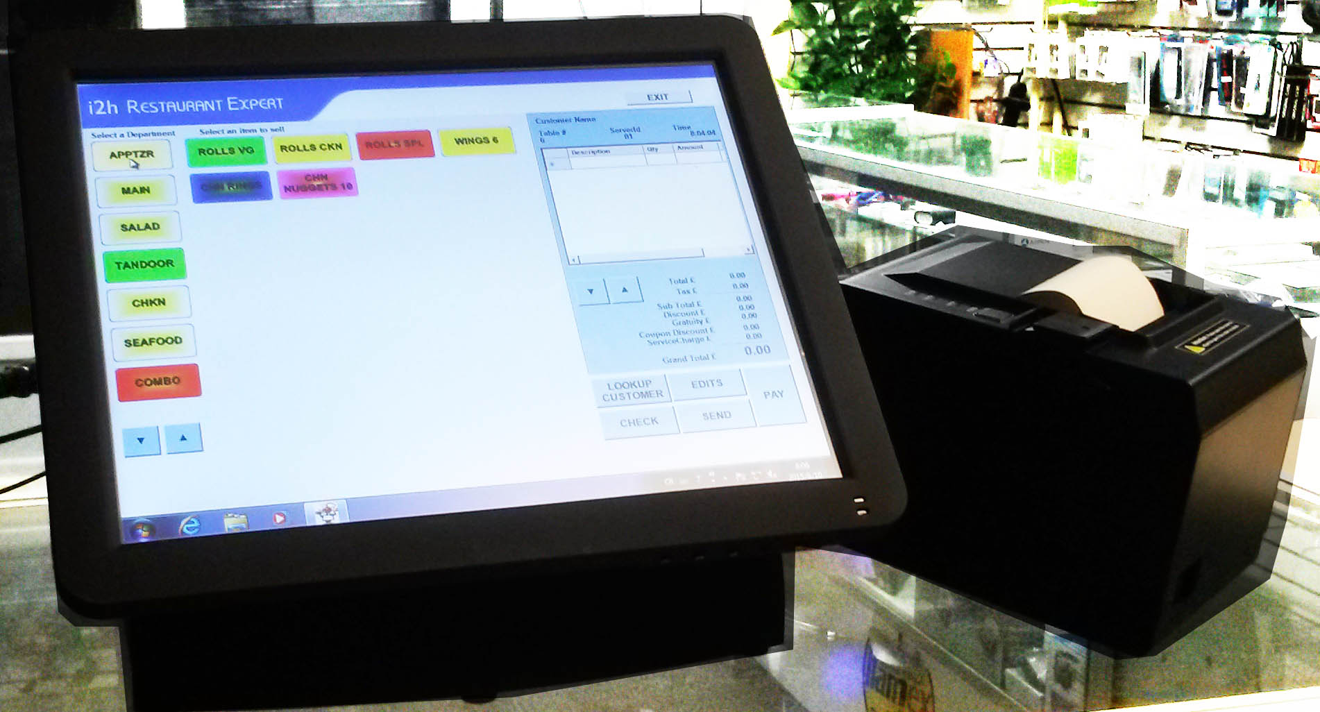 Point of sale software by i2htech and bizsoftexpert