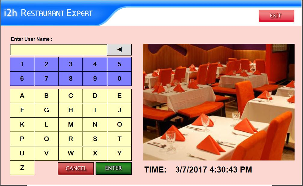 Restaurant Point Of Sale Software - Restaurant table software